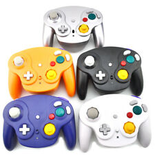 For GameCube Wireless Controller Wii Analog Rumble NGC Shock Game Pad Nintendo