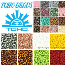 Wholesale Smooth 1200pcs Round 11/0 Toho Japan Glass Seed Beads Spacer Color