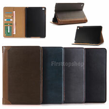 """For iPad Pro 12.9""""  Air Luxury Book Folio Leather Wallet Smart Case Cover Stand"""