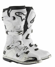 Alpinestars Tech 8 RS MX Offroad Boots White/Vented