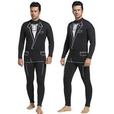 Mens 3mm Formal Style Neoprene Wetsuit Jump Surf SCUBA Diving Dive Wet Suit