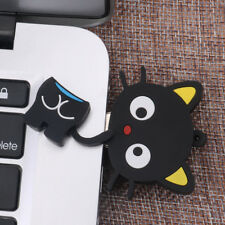 Cartoon Black Sitting Cat USB2.0 Flash Drive Memory Thumb Stick Pendrive