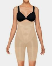 ASSETS by Spanx 2271 Remarkable Results Open-Bust Mid-Thigh Body Sand M