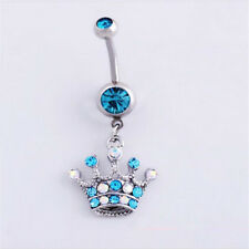 Navel  Ring Rhinestones 1Pcs Body Dangle Jewellery 6 style Piercing Belly Button