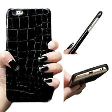 1Pcs For iPhone Case Hot Material Fashion Phone Crocodile Shell PU Leather New