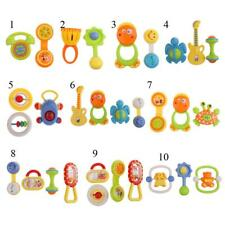 Baby Hand Shaking Bell Rattle Handbell Educational Nusery Musical Toy Instrument