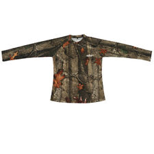 Woodland Camouflage Military Long Sleeve Army Camo T-Shirt Concealment