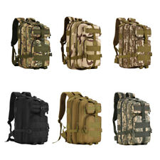 40L MOLLE Outdoor Tactical Rucksack Backpack Camping Hiking Trekking Luggage Bag