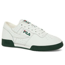 "FILA ""Original Fitness"" Sneakers (White/Sycamore/Biking RD) Mens Athletic Shoes"