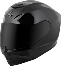 Scorpion Adult Black EXO-R420 Solid Full Face Motorcycle Helmet Snell DOT