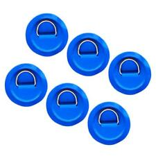 6pcs Stainless Steel D-ring Pad/Patch for PVC Inflatable Boat Dinghy Kayak