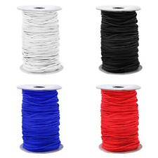 3mm Elastic Bungee Rope Shock Cord Tie Down Boats Trailers Various Length/Color
