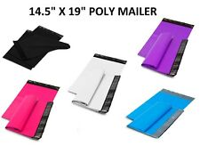 14.5x19 Poly Mailers Shipping Envelopes Self Sealing Plastic Mailing Bags Color