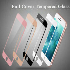 For iPhone Models Glossy Full Cover 3D Tempered Glass Curved Screen Protector