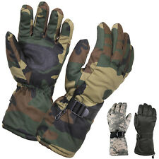 Insulated Thermal Tactical Winter Gloves Cold Weather Long Cuff Ski Camo Hunting