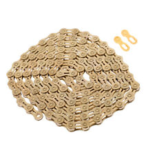 9 10 11 Speed Chain Gold Road Bike Bicycle Cycle Freewheel Chain 116 Links