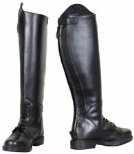Tuffrider Women's Starter Back Zip Field Riding Boots Synthetic Leather