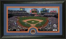 New York Mets Citi Field Team Stadium Photo with Infield Dirt Coin