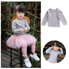 Cotton T-Shirt Cute Baby Blouse Clothes Girl Autumn Long Sleeve Tops Kids