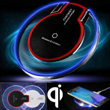 QI Wireless Charger Charging Pad Mat Receiver Fr 5 6 7 8 Plus SE X Samsung S7 S8