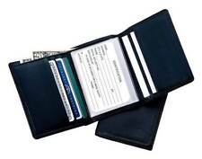 Mens Tri-Fold Leather Wallet w Photo Holder [ID 392439]