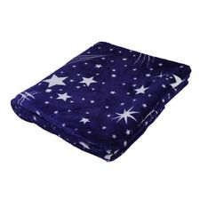 Bright Stars Soft Warm Plush Flannel Sleep Couch Blanket Bedding For Sofa Bed MG