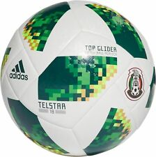 Adidas 2018 Mexico World Cup Glider Soccer Ball Adult Size 5 CE9972