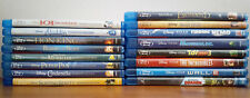 DISNEY PIXAR MOVIE BLU-RAY LOT - HOCUS POCUS/ ENCHANTED/ LION KING/ TOY STORY 3