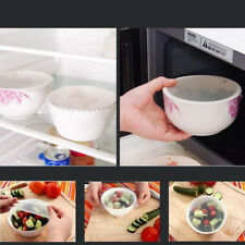Food Wraps Stretch And Fresh Healthy Silicone Tools Re-usable 1 Set Kitchen