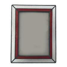 Vintage Glass Free Standing Picture Photo Frame Table Decoration 5 x 7 inch