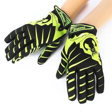 Bicycle Skeleton Skull Pattern Full Finger MTB Motorcycle Bike Sports Gloves
