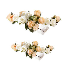 2Pc Boho Mommy and Me Flower Crown Festival Headband Floral Garland Hairband