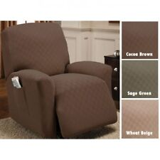 NEW Newport Stretch to Fit Furniture Slipcover - Recliner Slipcover