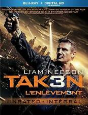 """BRAND NEW  """"Taken 3"""" (Blu-ray + Digital Copy HD) Theatrical and Unrated Version."""