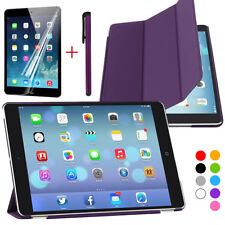 Slim Magnetic Wake/Up Case Stand Cover for Apple iPad Air 2nd iPad 6 2014