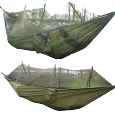 Jungle Camping Outdoor Hanging Bed Mosquito Net Nylon Portable  Hammock Travel