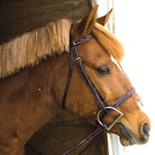 Exselle NEW Elite Fancy Stitched Square Raised English Horse Bridle with Reins