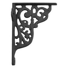 Signature Hardware Ornamental Cast Iron Shelf Bracket
