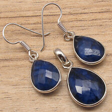 925 Silver Plated Ancient Style Earrings Pendant SET ! Jewelry Store