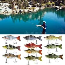 Multi Jointed Fishing Bionic Lure SUN-FISH Lifelike Bait Bass Perch Muskie F3B1