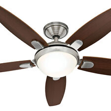 """NEW Hunter Contempo 52"""" Ceiling Fan with Light"""
