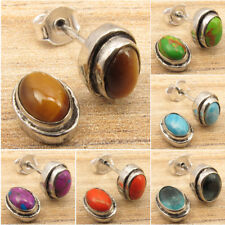 925 Silver Plated Collectible Vintage Style Earrings Jewelry Brand New