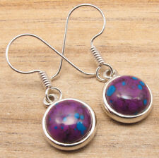 925 Silver Plated Natural Stone Choice Earrings Highly Polished Jewelry