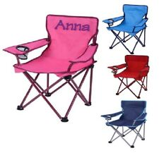 Kids camping chair personalized - Outdoor tailgating folding chair - Custom