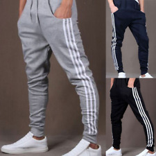 Men's Trousers Casual Jogger Sportwear Elastic Baggy Harem Pants Slacks