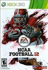 NCAA Football 12 Xbox 360 2011 Video Sports Game Disc and Case Rated E