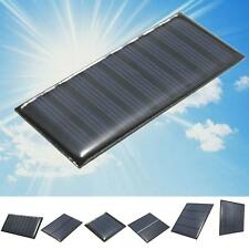 2/5/5.5/6/9V DIY Solar Panel Module System Toy For Battery Cell Phone Charger 4と