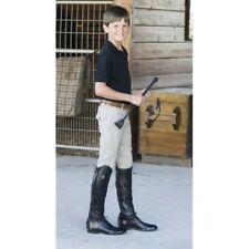 Ovation Boys' Euroweave 4 Pocket Riding Breeches with Hook-and-Loop at Ankle