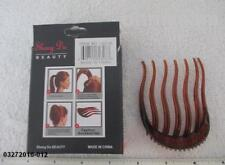 NEW MULTI COLOR PLASTIC COMB /HAIR STYLING TOOLS MULTI DESIGNS & STYLES