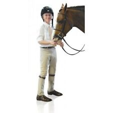 Ovation Boys Four Pocket Euroweave Riding Jodhpurs with Woven Fabric